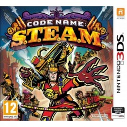 CODE NAME STEAM 3DS,,1P