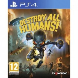 PS4 DESTROY ALL HUMANS,,1P