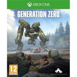 XBOXONE GENERATION ZERO,,1P